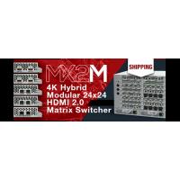 Старт продаж модульного матричного коммутатора Lighware MX2M